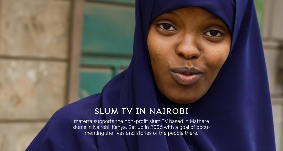 Slum TV in Nairobi - Empowerment von Frauen in Mathare